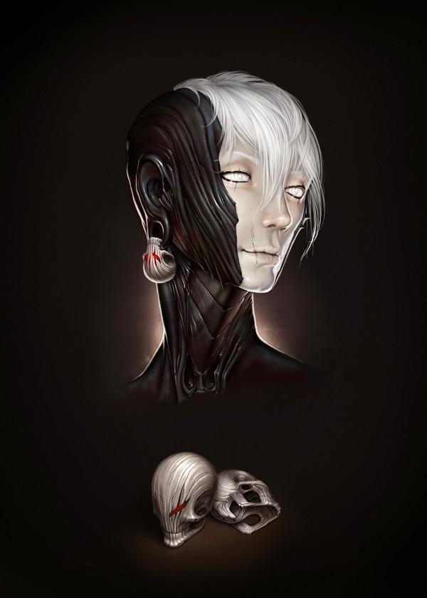 """Nymph"" - Digital Art by Alexander Fedosov via YouTheDesigner"