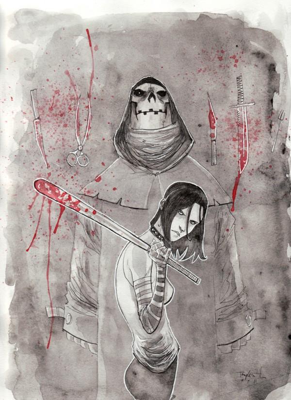 Sketchbook Illustrations by Ben Templesmith via YouTheDesigner