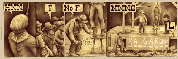 "PBF Comics - ""Capital Punishment"" via YouTheDesigner"