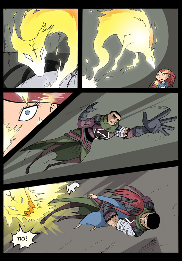 A page from Gunnerkrigg Court webcomic via YouTheDesigner