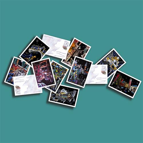 Fine Art postcards of Venice via YouTheDesigner.com
