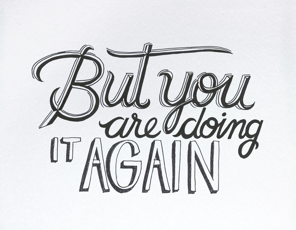 Bob Dylan´s HAND LETTERING EXPERIENCE by Leandro Senna via YouTheDesigner