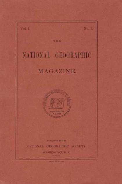 National Geographic Magazine | October 1888 Issue  via YouTheDesigner