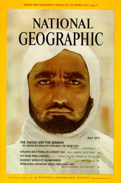 National Geographic July 1972 Issue via YouTheDesigner