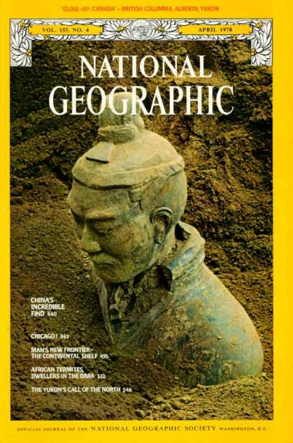 National Geographic April 1978 Issue via YouTheDesigner