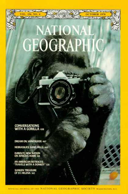 National Geographic October 1978 Issue via YouTheDesigner