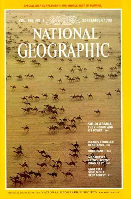 National Geographic September 1980 Issue via YouTheDesigner