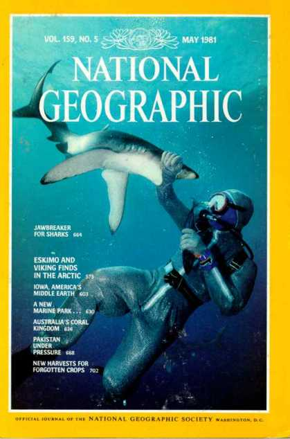 National Geographic May 1981 Issue via YouTheDesigner