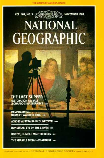 National Geographic November 1983 Issue via YouTheDesigner