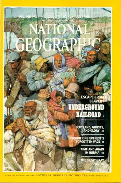 National Geographic July 1984 Issue via YouTheDesigner
