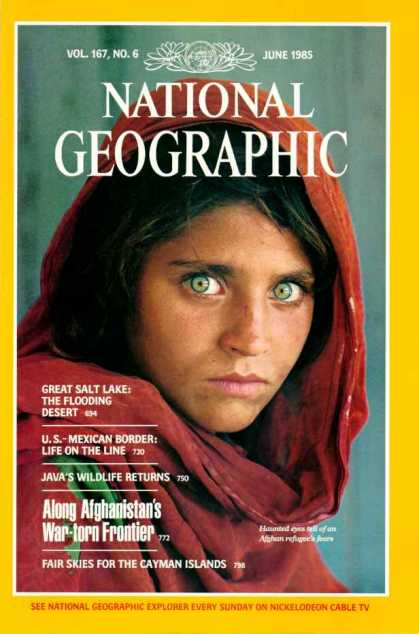 National Geographic June1985 Issue via YouTheDesigner