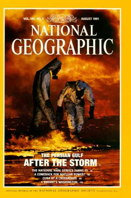 National Geographic August 1991 Issue via YouTheDesigner