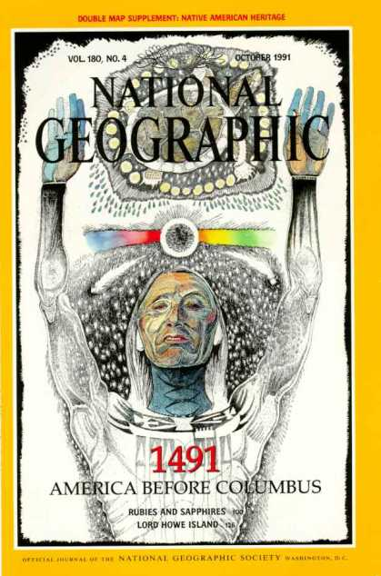 National Geographic October 1991 Issue via YouTheDesigner
