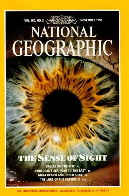National Geographic November 1992 Issue via YouTheDesigner