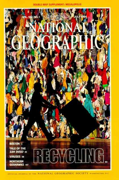 National Geographic July 1994 Issue via YouTheDesigner