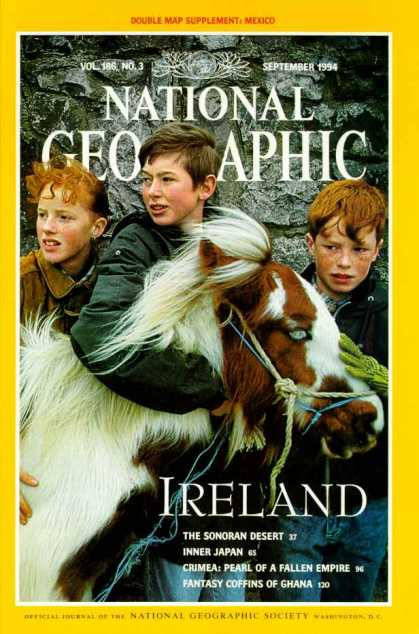 National Geographic September 1994 Issue via YouTheDesigner