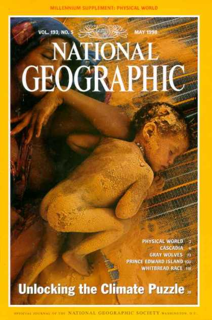 National Geographic May 1998 Issue via YouTheDesigner