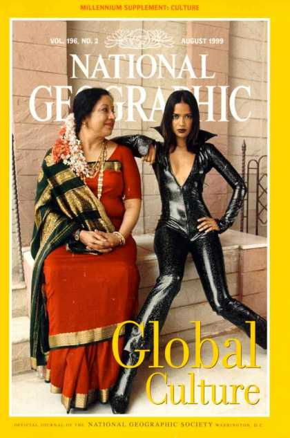 National Geographic August 1999 Issue via YouTheDesigner