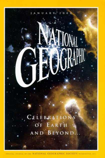 National Geographic January 2000 Issue via YouTheDesigner