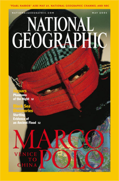 National Geographic May 2001 Issue via YouTheDesigner