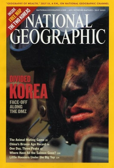 National Geographic July 2003 Issue via YouTheDesigner