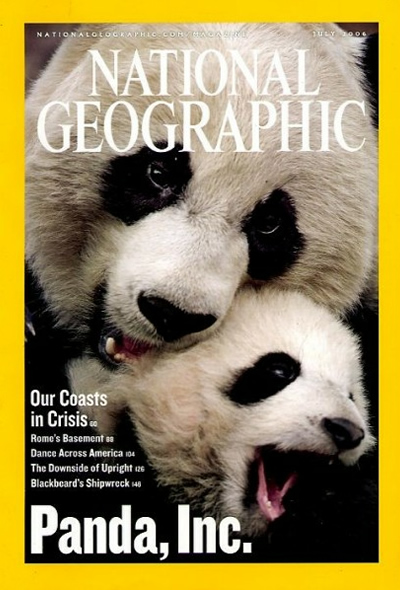 National Geographic July 2006 Issue via YouTheDesigner