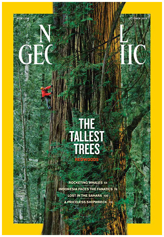 National Geographic October 2009 Issue via YouTheDesigner