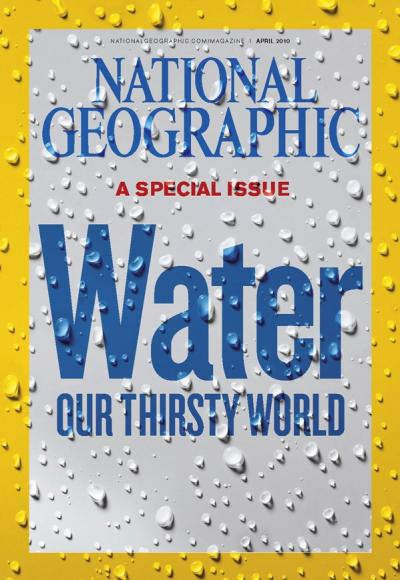 National Geographic April 2010 Issue via YouTheDesigner