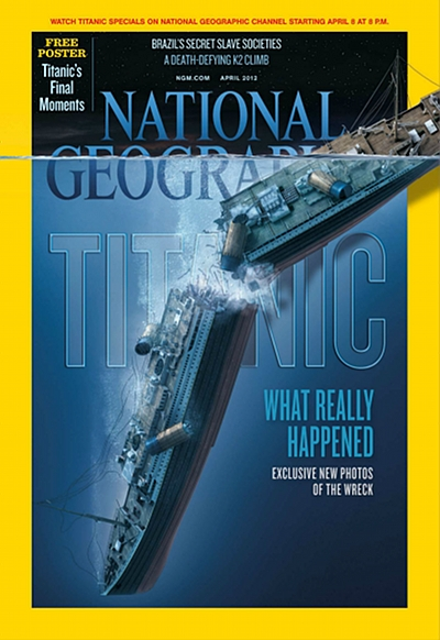 National Geographic April 2012 Issue via YouTheDesigner