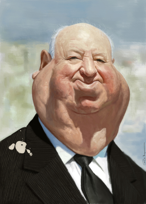 Caricature by Paul Moyse