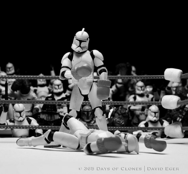 """Trooper vs. Trooper"" -  - Photography by David Eger"