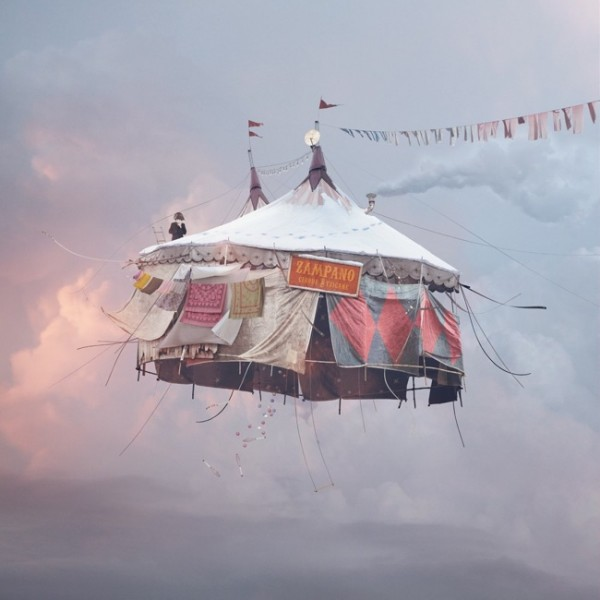 """""""Flying Houses"""" by Laurent Chéhère"""