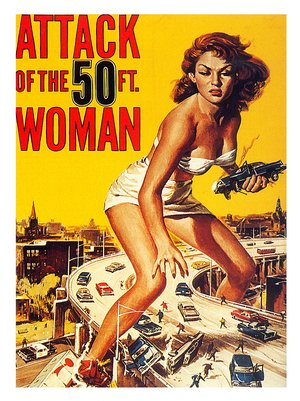 AP031-attack-of-the-50ft-woman-sci-fi-movie-poster