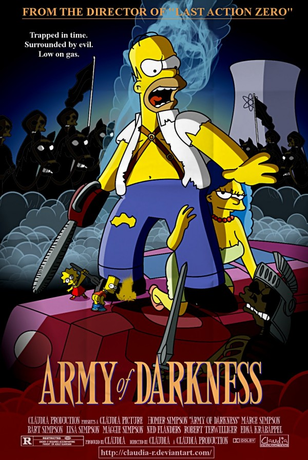 Army of Darkness Parody via youthedesigner