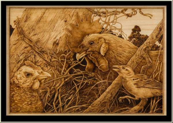 Discourse Pyrography by David Stanley
