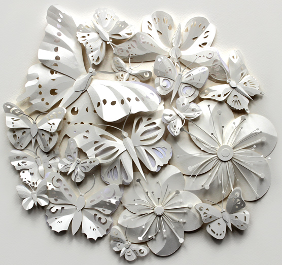 Paper Cut Artworks by Helen Musselwhite via YouTheDesigner