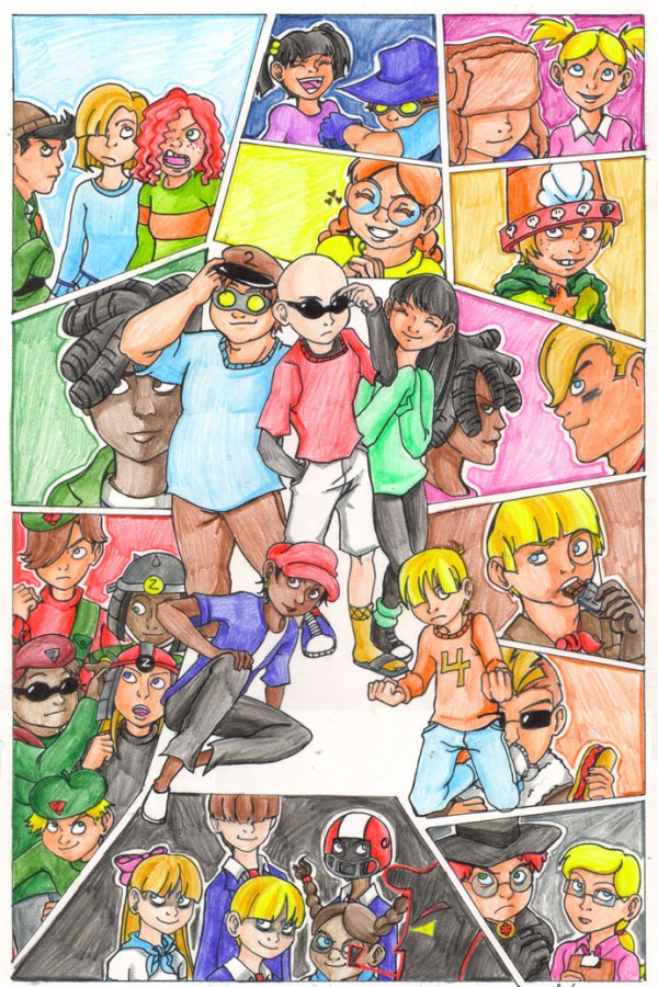 """Kids Next Door"" by gabbie via YouTheDesigner"