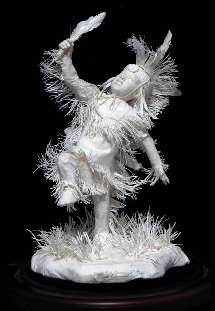 Cast Paper Sculpture by Allen & Patty Eckman via YouTheDesigner