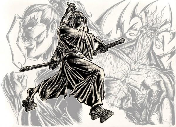 """Samurai Jack"" by shaneandhisdog via YouTheDesigner"