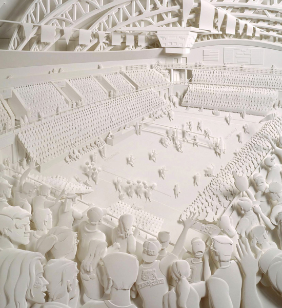 Paper Sculpture by Jeff Nishinaka via YouTheDesigner