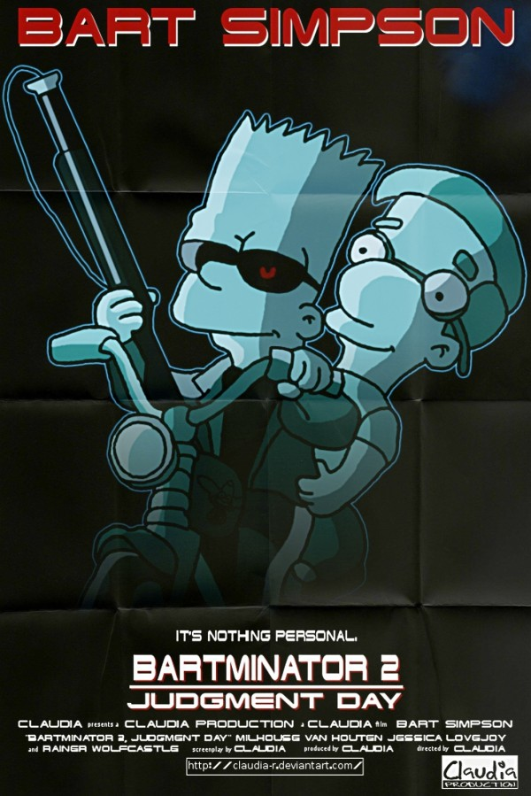 Terminator Parody via youthedesigner