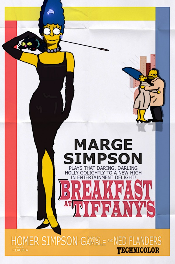 Breakfast at Tiffany's Parody via youthedesigner
