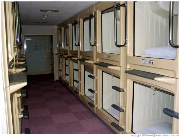 capsule hotel via You the Designer