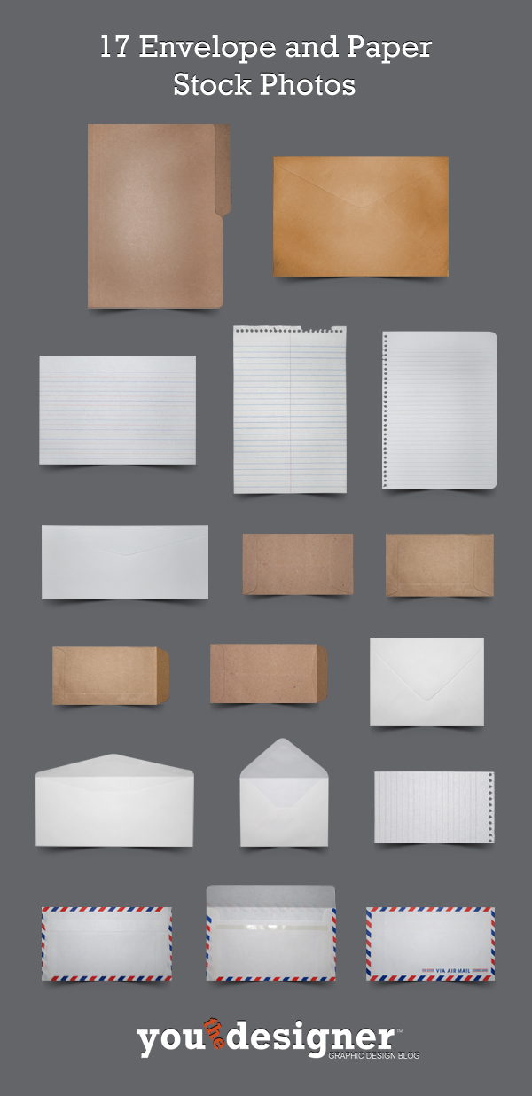 17 Envelope and Paper Stock Photos by YouTheDesigner