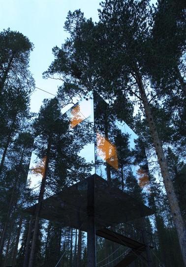 Tree Hotel via You The Designer