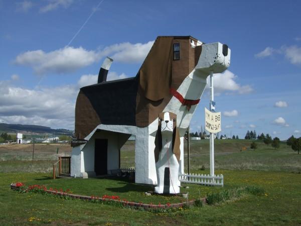 dog bark park exterior via You The Designer