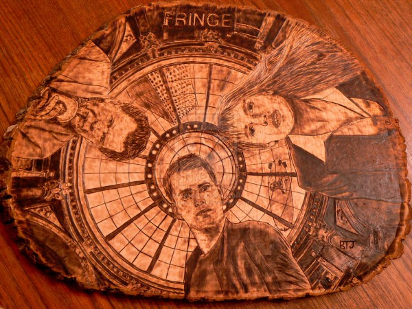 """Fringe"" - pyrography by Bandon Jones"