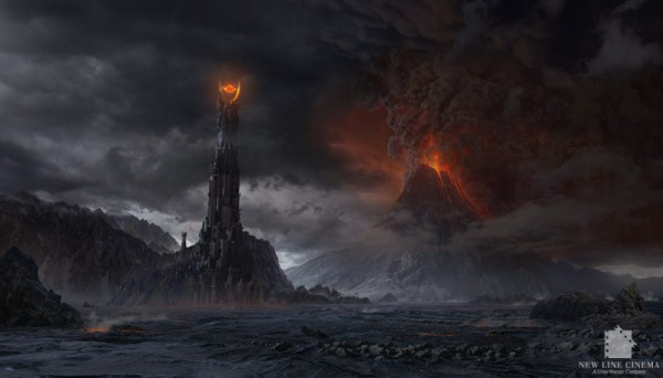 """Concept Art for """"Lord Of The Rings: The Return Of The King"""" by Dylan Cole"""