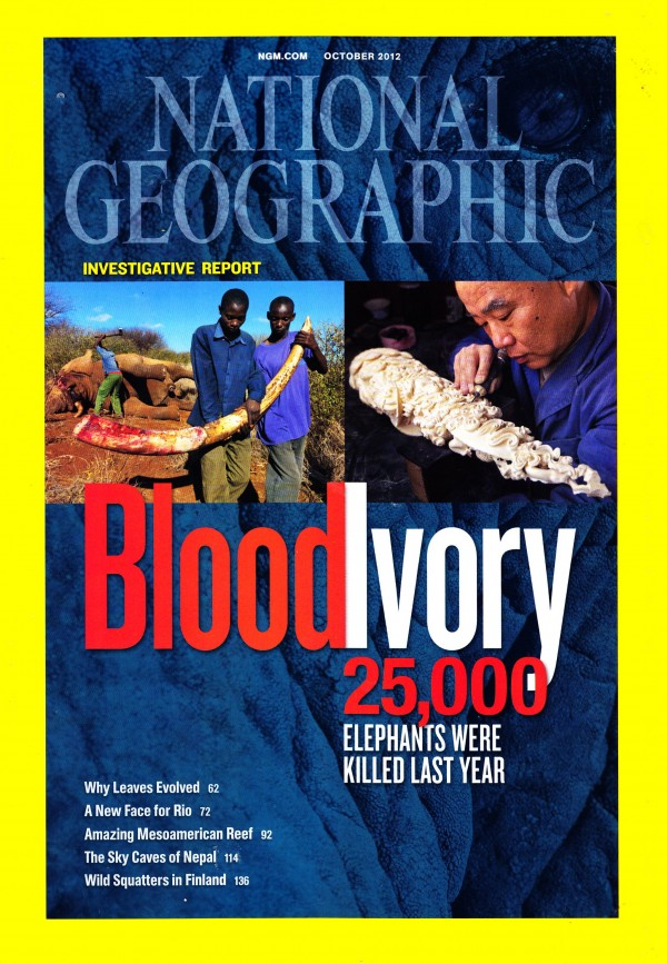 National Geographic October 2012 Issue via YouTheDesigner
