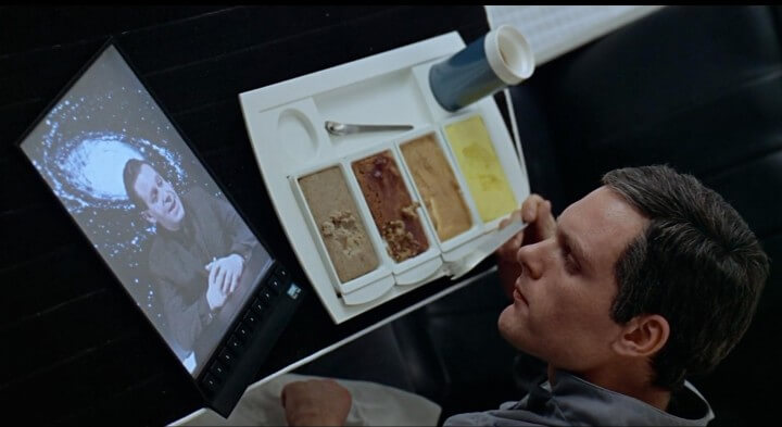 Stanley Kubrick envisioned tablet computers on his screen adaptation of Arthur C. Clarke's 2001: A Space Odyssey